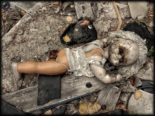 Dolls Of Chernobyl Creepy - Burn 2