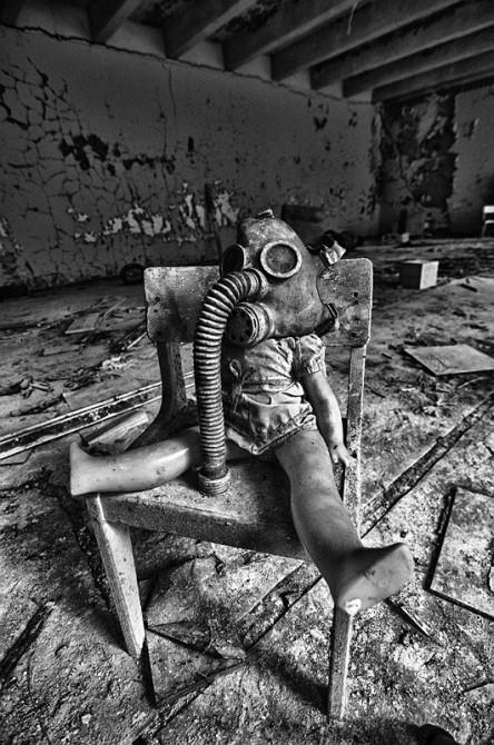 Dolls Of Chernobyl Creepy - Doll In Chair