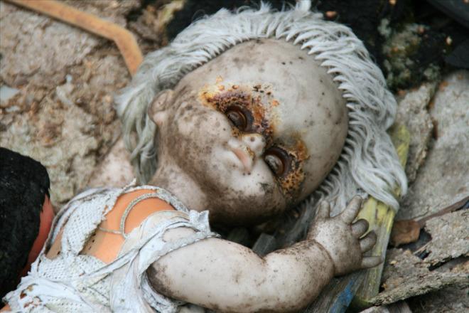 Dolls Of Chernobyl Creepy - Eye Burn