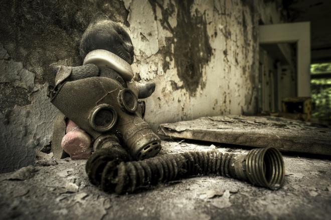 Dolls Of Chernobyl Creepy - Eye Mask