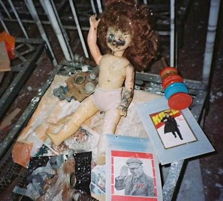 Dolls Of Chernobyl Creepy - Pen