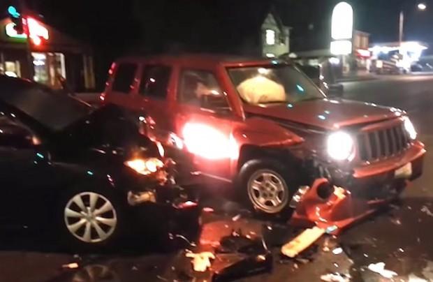 Drunk Car Crash