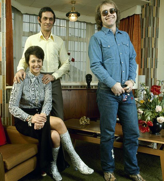 Elton John Parents