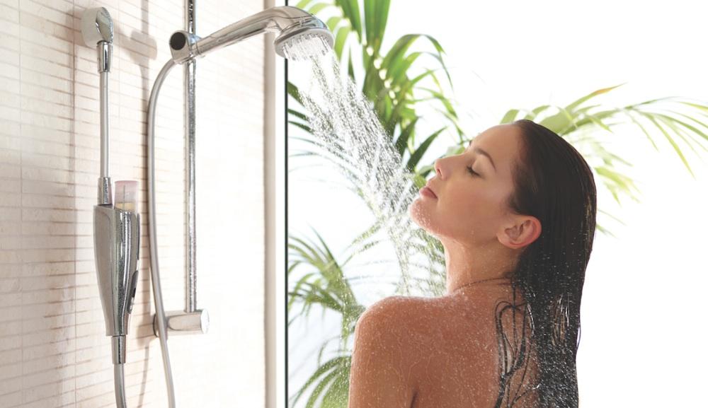 Girl Shower