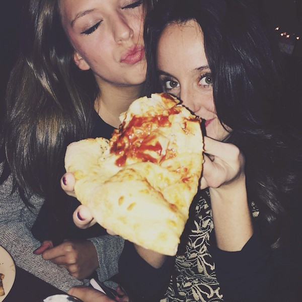 Hot Girls Eating Pizza 13