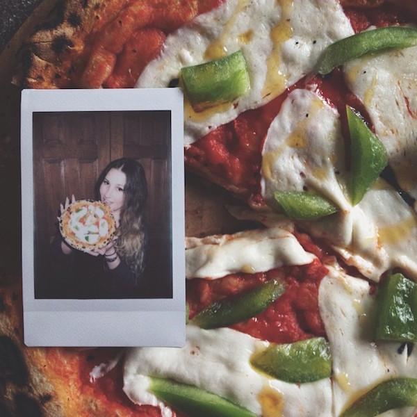 Hot Girls Eating Pizza 5