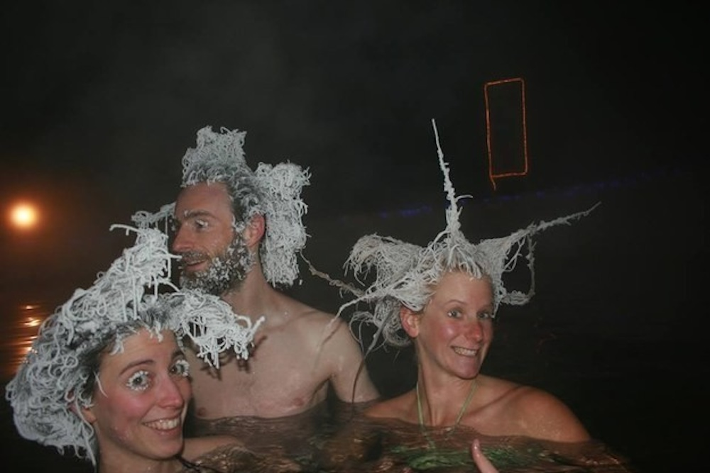 Icicles In Hair 1
