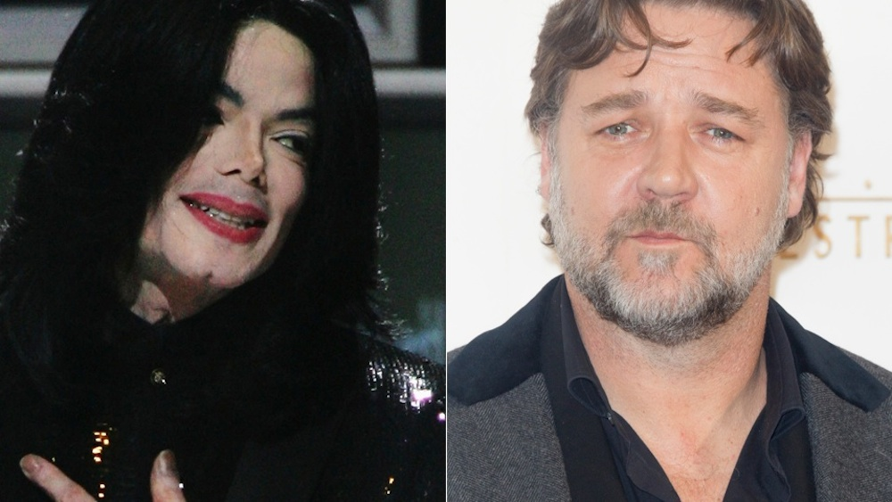 Michael Jackson Russell Crowe