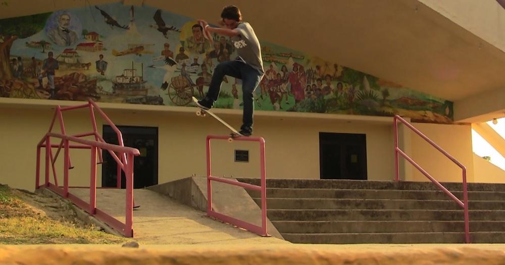 Mikey Whitehouse Tech Skateboarding