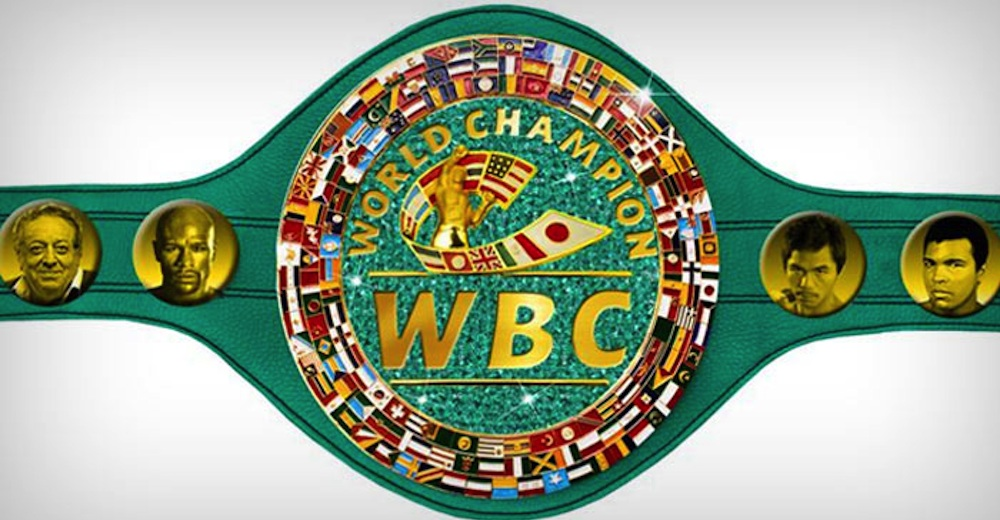 New WBC Title Belt