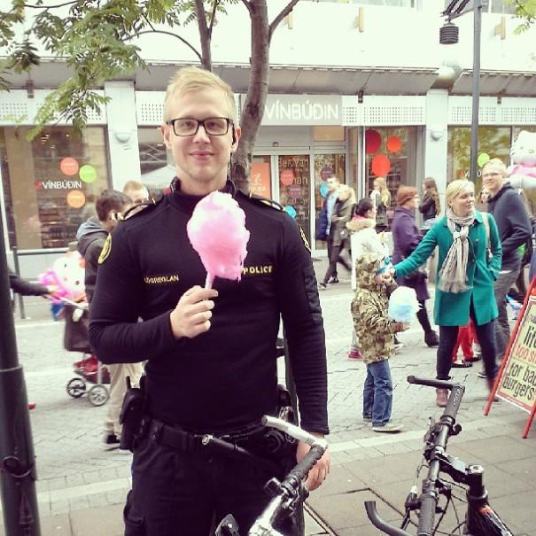 Reykjavik Police Instagram - Candy Floss