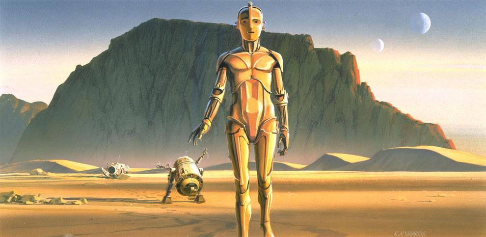 Star Wars Concept Art - Ralph McQuarrie - C3PO