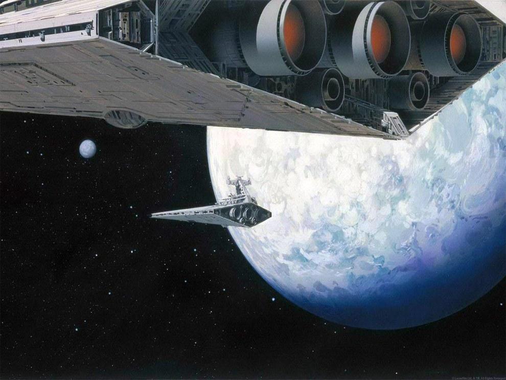Star Wars Concept Art - Ralph McQuarrie - Empire Strikes Back