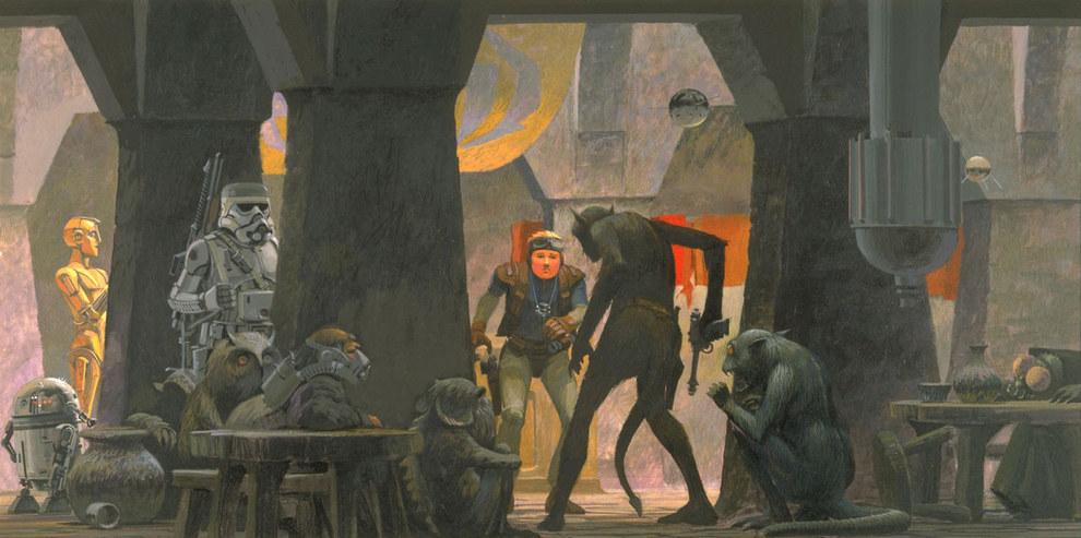 Star Wars Concept Art - Ralph McQuarrie - Jabbas Club