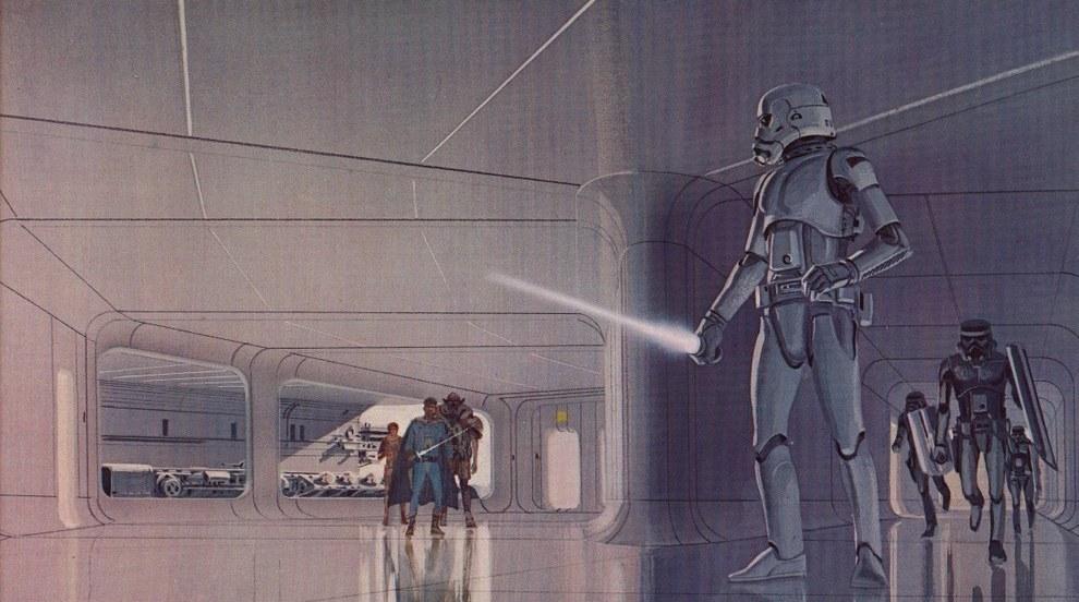 Star Wars Concept Art - Ralph McQuarrie - Light Saber