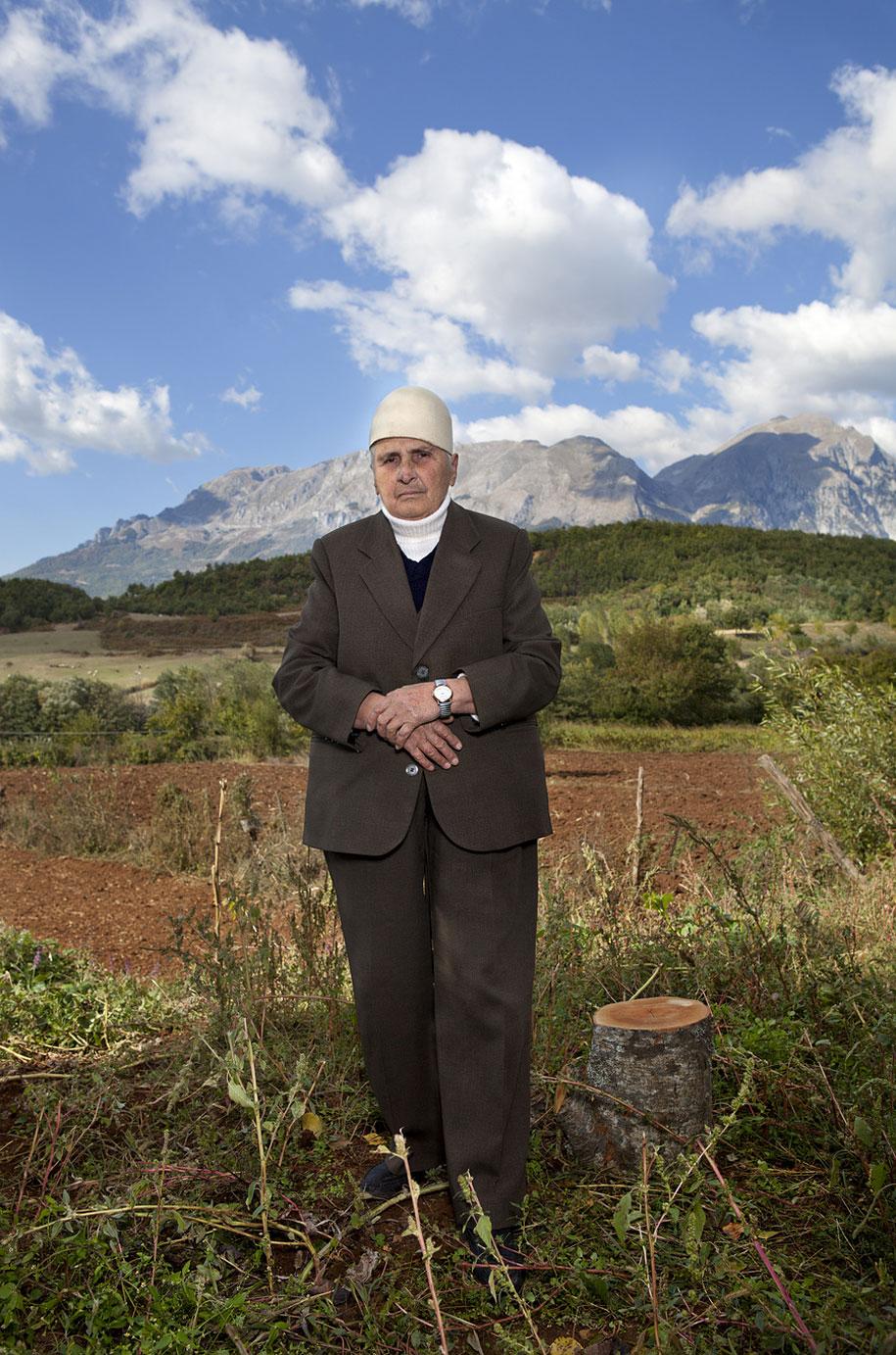 Sworn Virgins Of Albania - Head Bandage