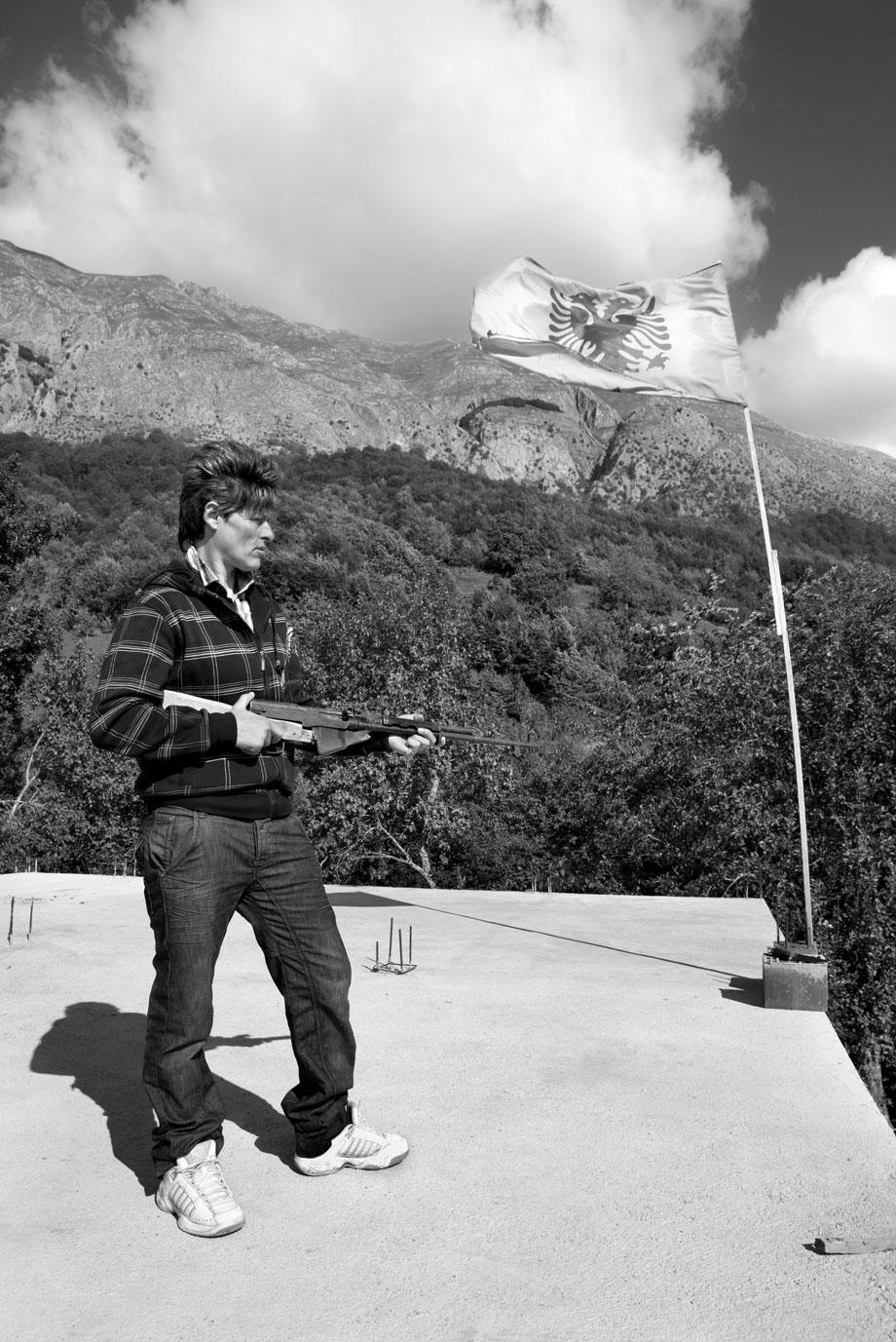 Sworn Virgins Of Albania - With Gun