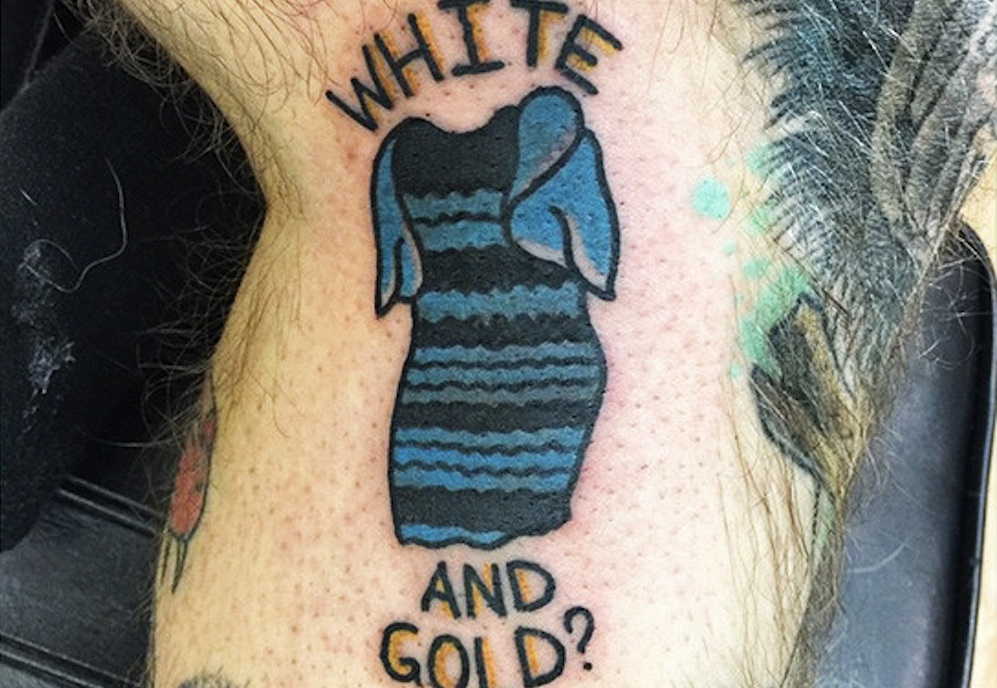 Tattoo That Dress