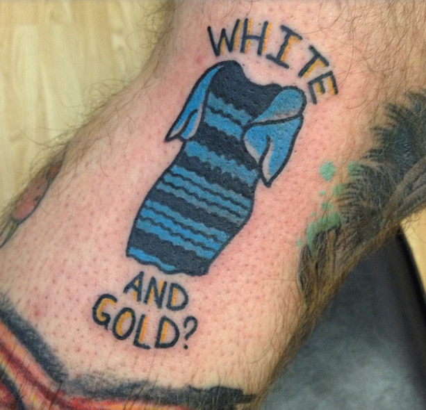 955720c5ea Someone s Actually Just Got A Tattoo Of That White And Gold Black ...
