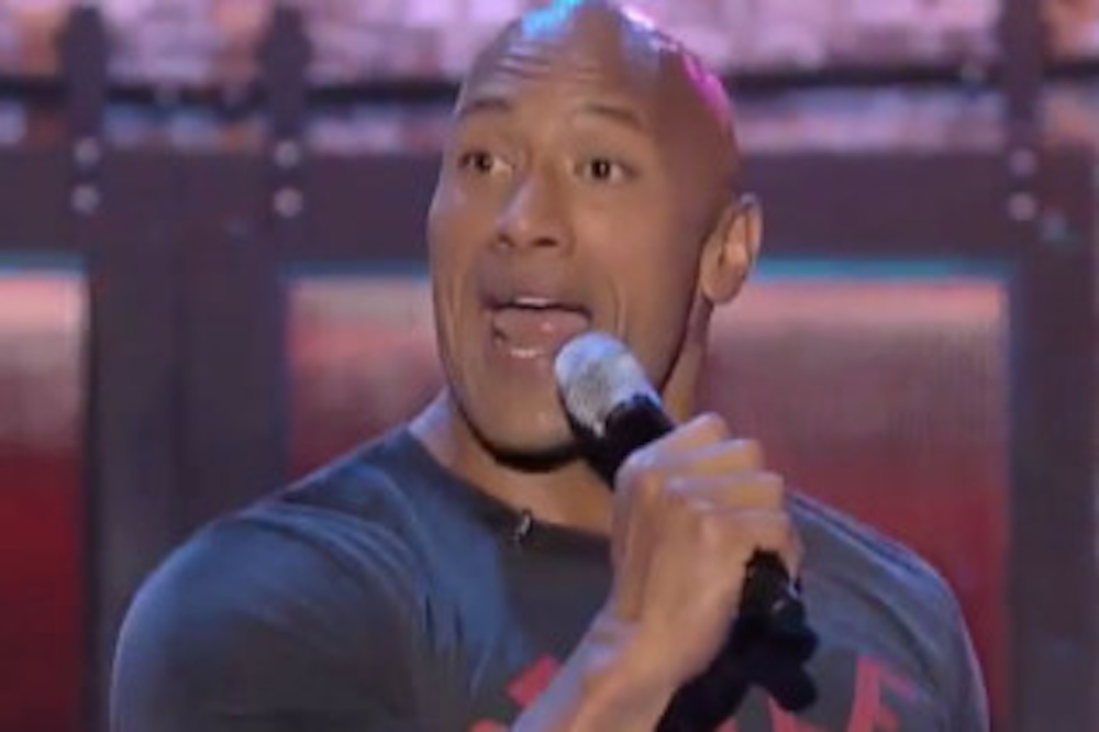 The Rock Shake It Off