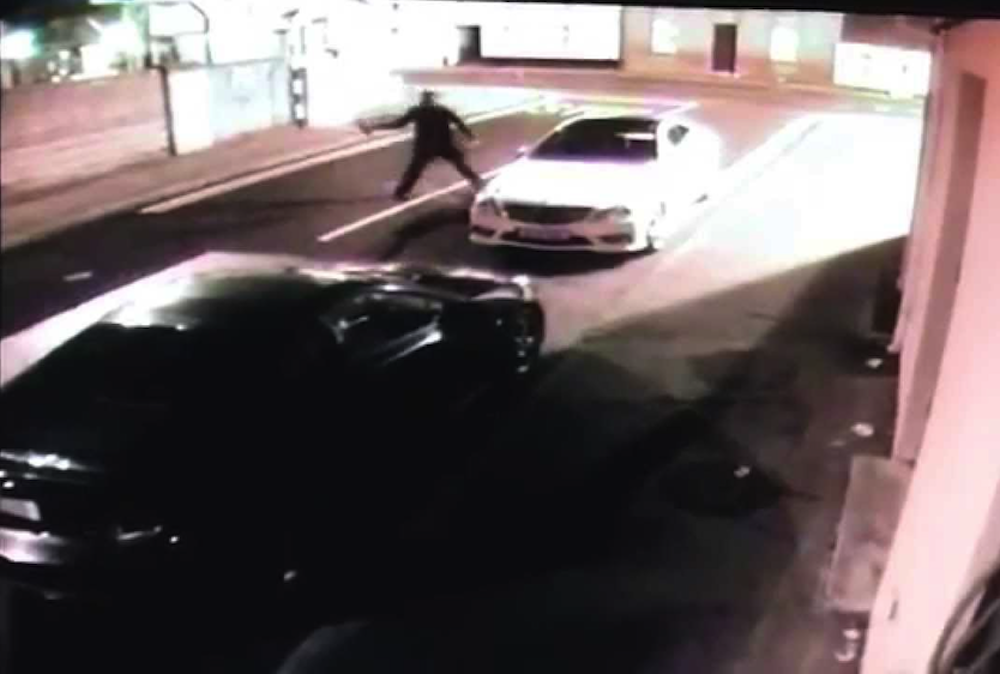 Thief Knocks Himself Out Brick
