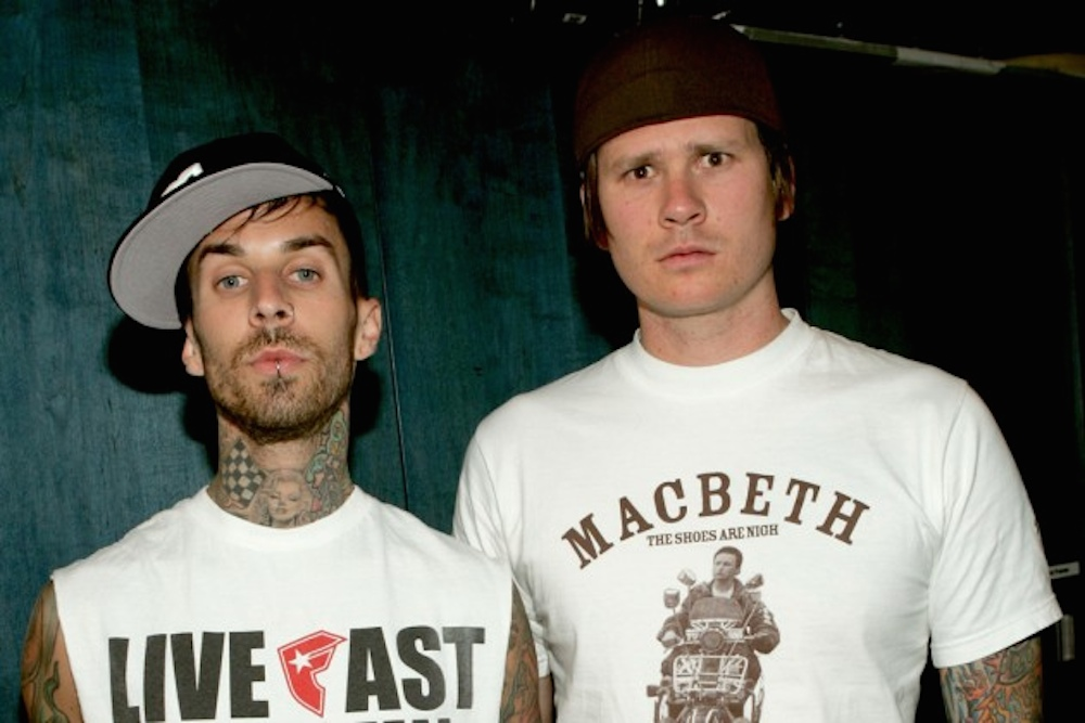 Tom DeLonge Travis Barker