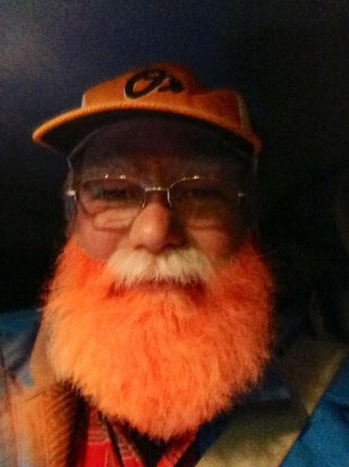 Traffic Jam Jimmy - Beard orange