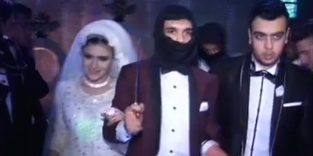 Wedding Fake ISIS Invasion