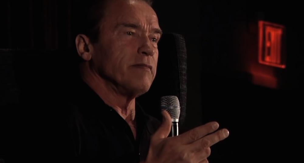 Arnold Schwarzenegger Bodybuilding Talk