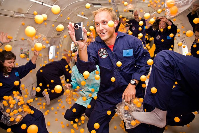 astronauts having fun in space - photo #3