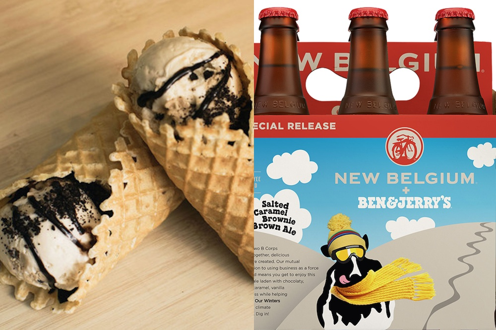 Ben And Jerry's Ice Cream Burrito And Beers