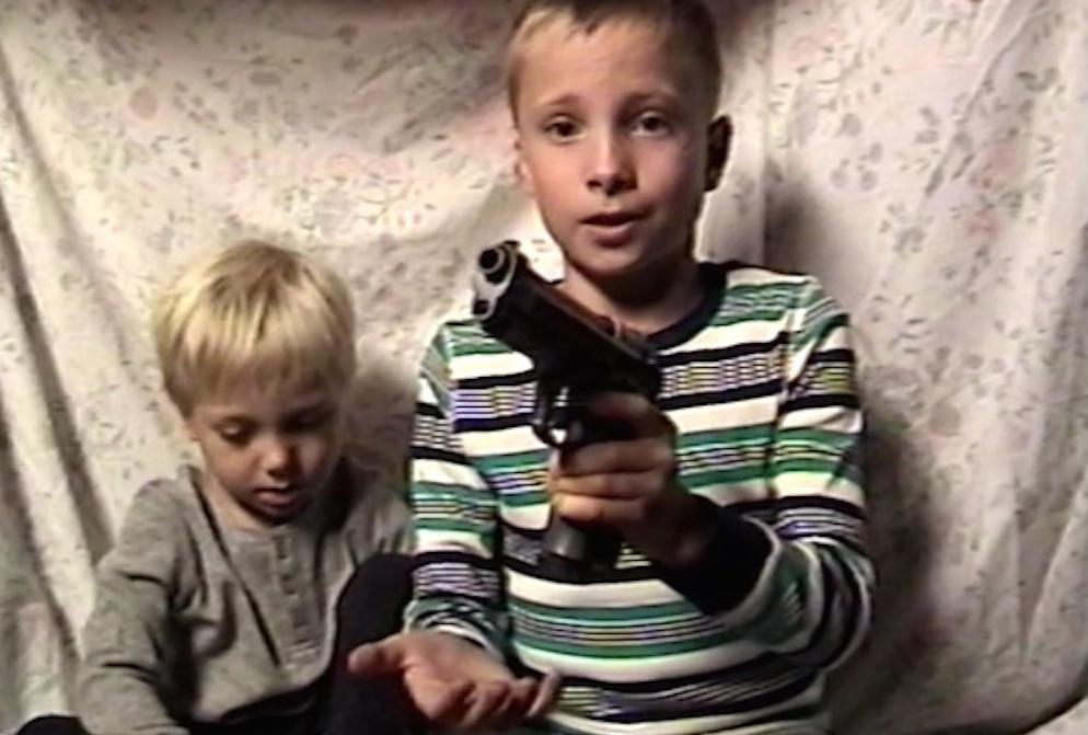 Brainwashed Cult Kids Guns