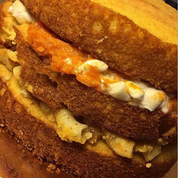 Chicken, Potato And Gravy Cake 3