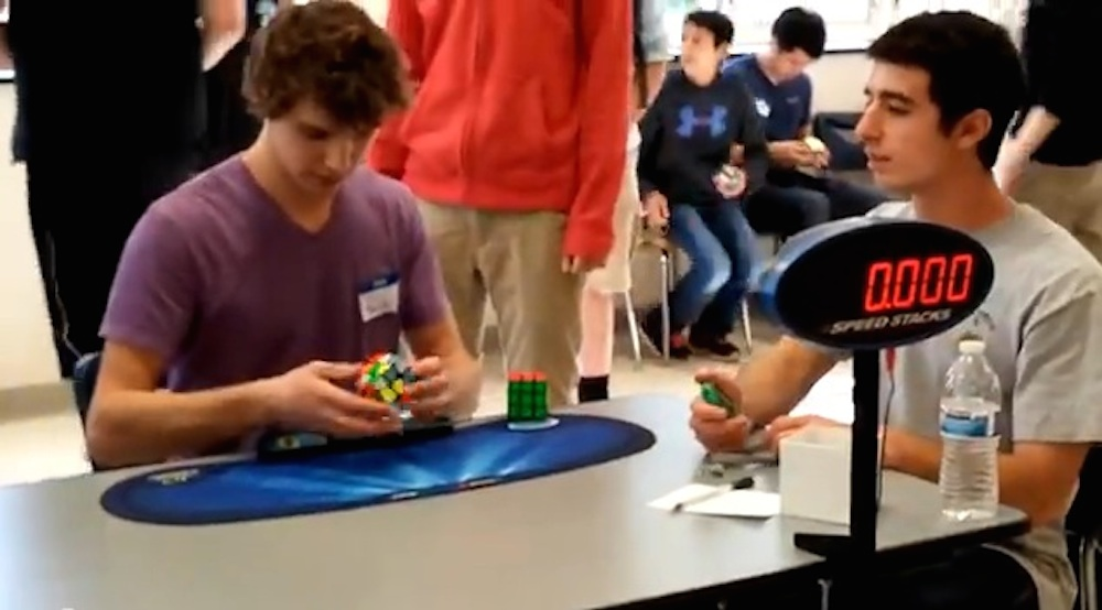 Collin Burns Rubik's Cube World Record