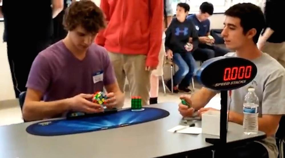 Collin Burns Rubik's Cube World Record