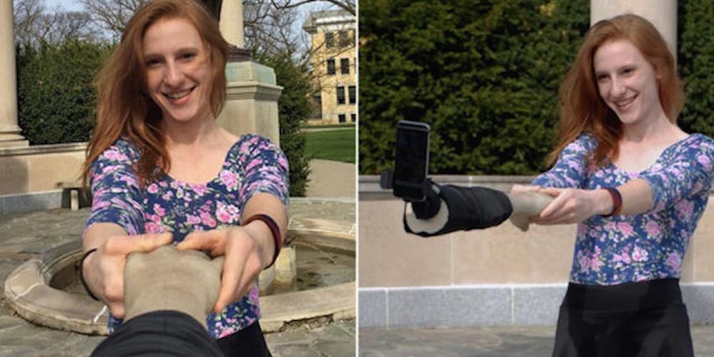 Fake Selfie Stick