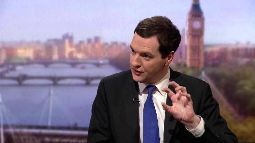 George Osborne Andrew Marr
