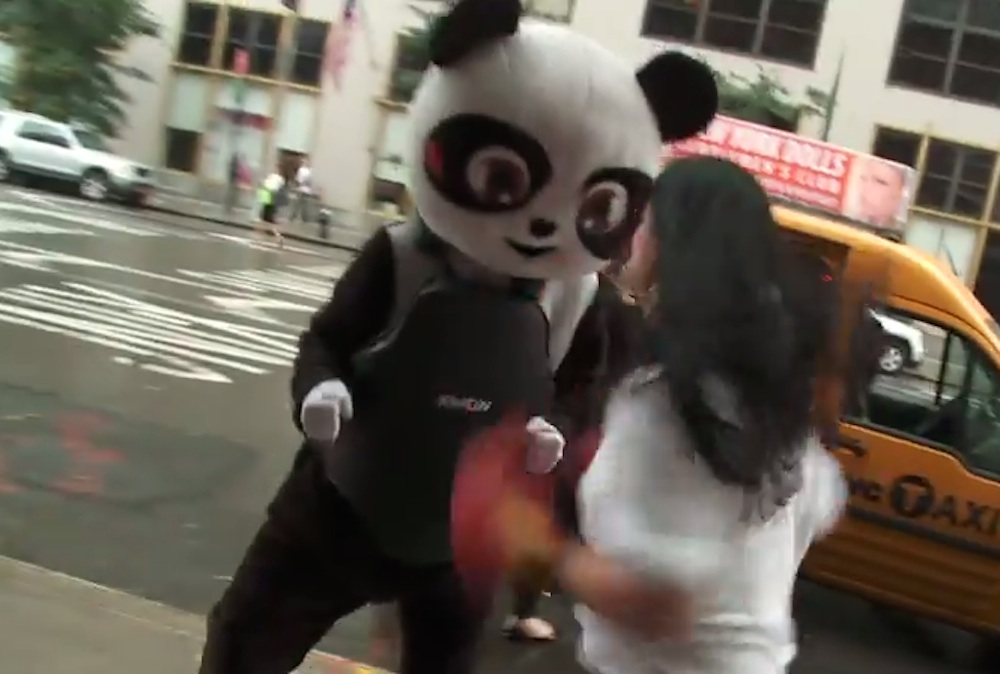 Giant Panda Beaten Up