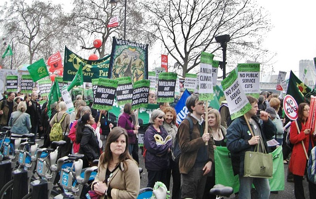 Green Party Protestors