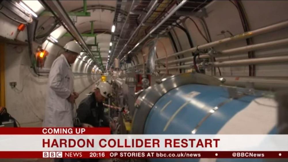 Hardon Collider Restart
