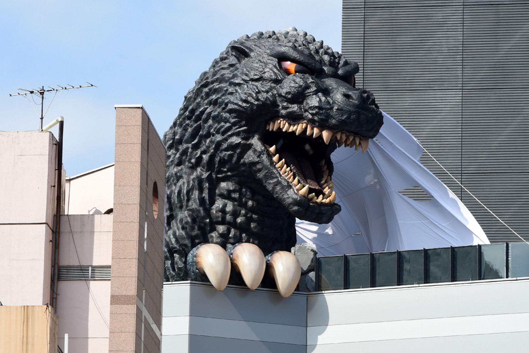 Hotel Gracery - Godzilla - Shinjuku - Giant Head