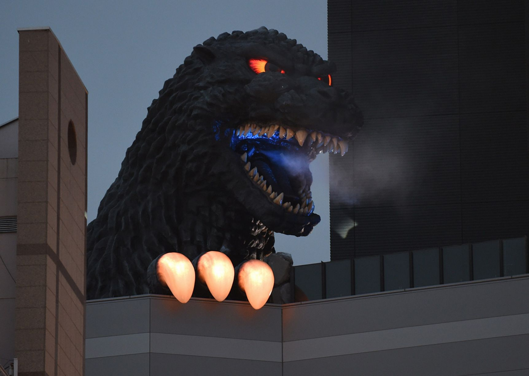 Godzilla Hotel Opens In Tokyo And It Looks Well