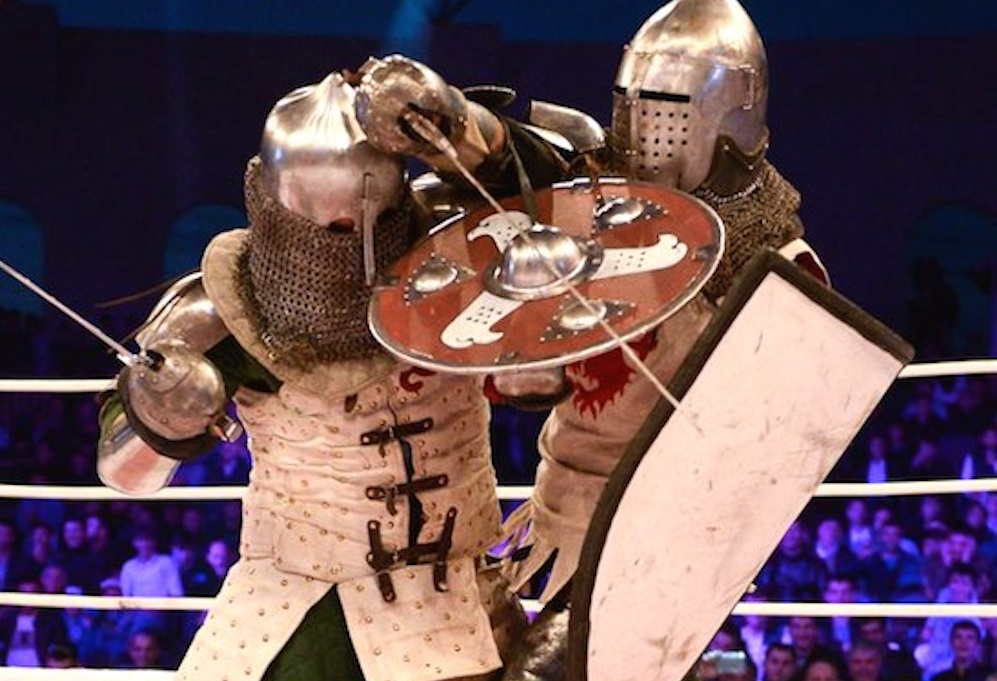 Medieval Knight Fighting