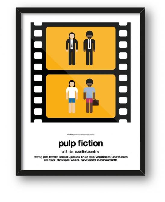 Minimalist Film Posters 1