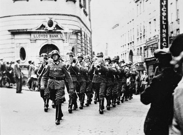 Nazi Soldiers in the Channel Islands