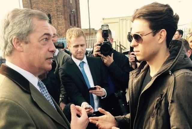 Nigel Farage Joey Essex