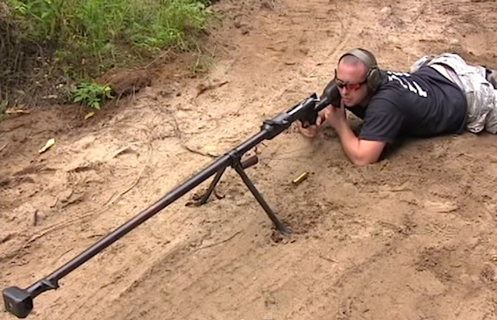 Russian Anti Tank Rifle