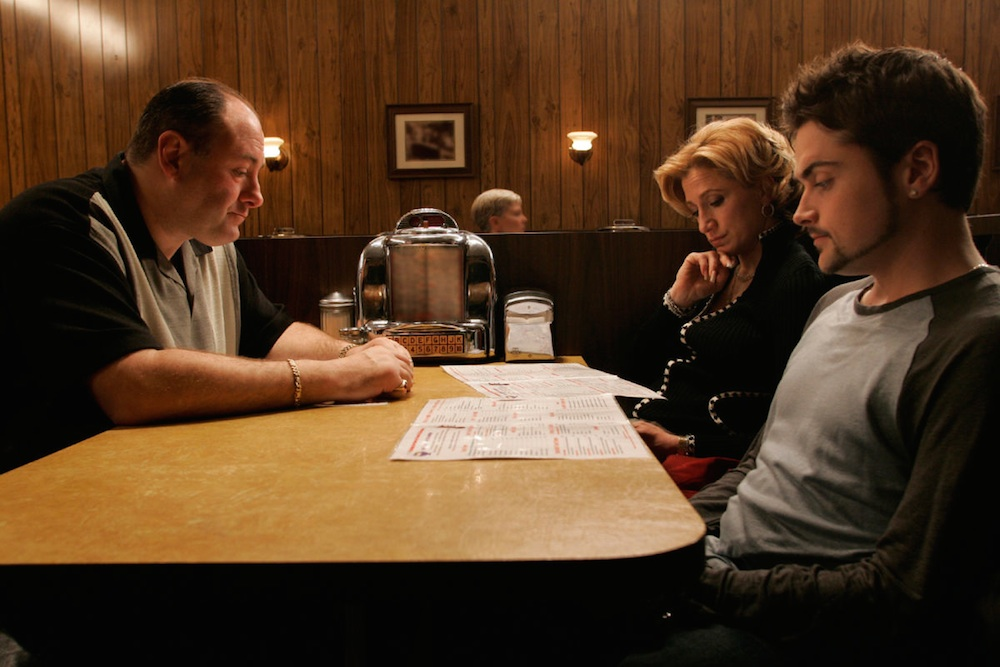 Sopranos Final Scene