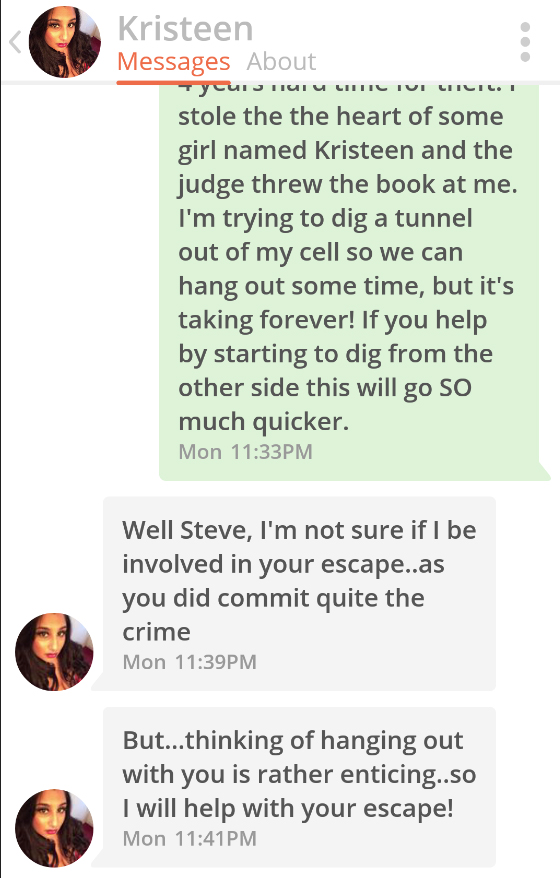 This Guy Reckons His Tinder Pickup Line Works 100% Of The