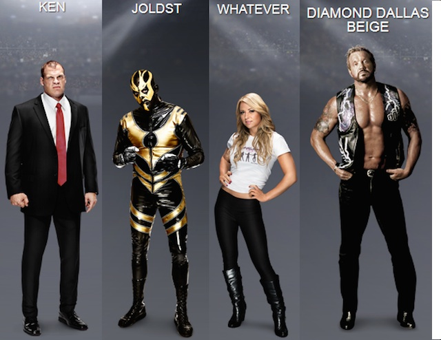 Wwe wrestlers names and pictures